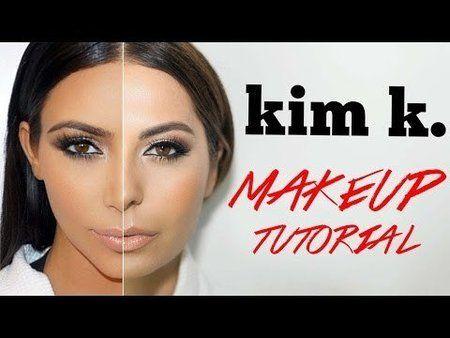 Kim K Makeup Tutorial - #kimk #makeuptutorial #makeup                                                                                                                                                                                 More