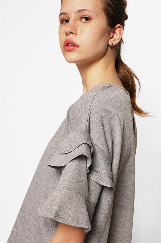 Short Sleeved Peggy | COTTONINK