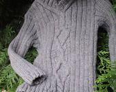 """PULL """" petit jeu de torsades : Mode garçons par de-laine-en-aiguilles sur ALittleMarket"""