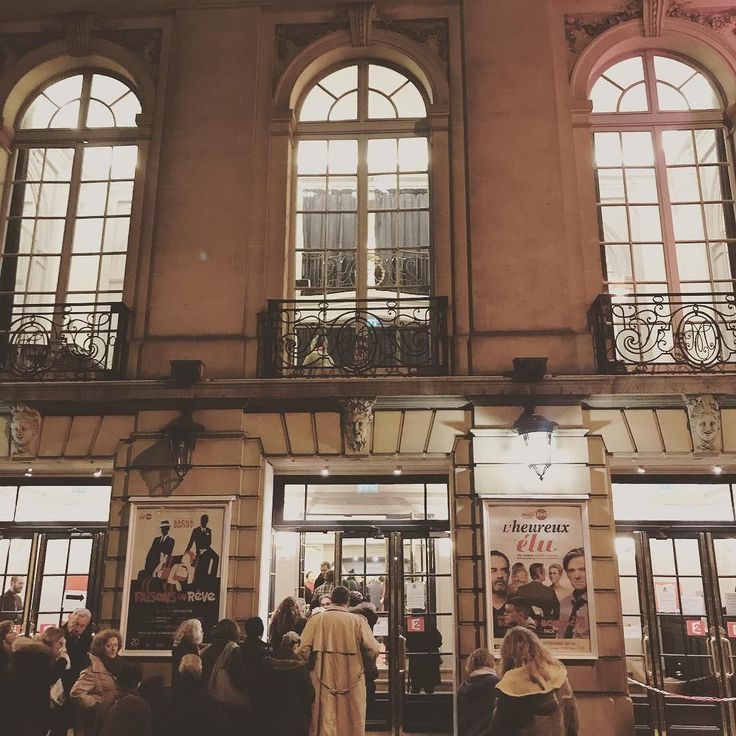 Soirée théâtre  #theatre #paris