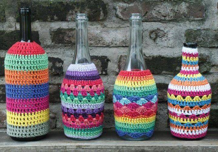 Botellas tejidas | MercadoLimbo.com
