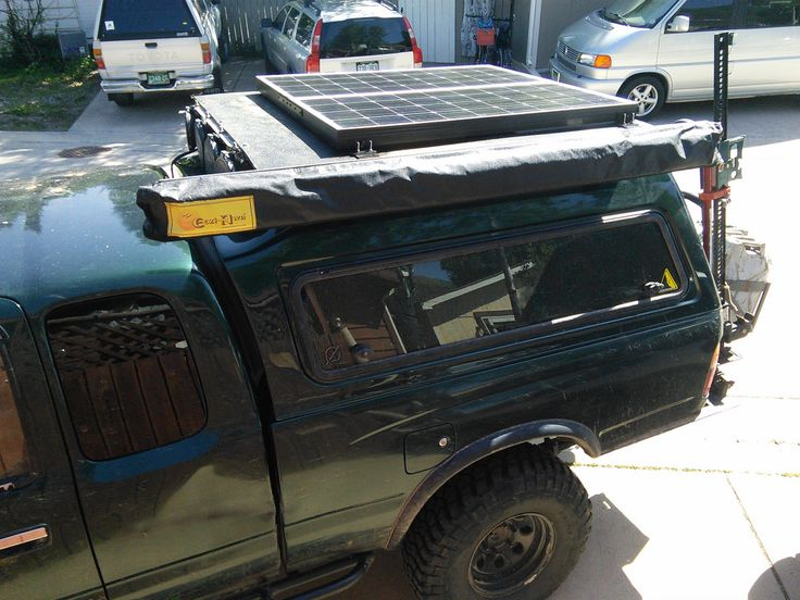 Discrete Solar Power System for Truck Bed & Topper - Expedition Portal
