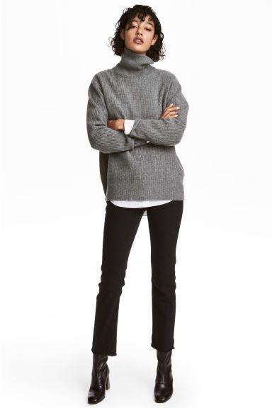 Slim Regular Ankle Jeans - Черный - Женщины | H&M RU