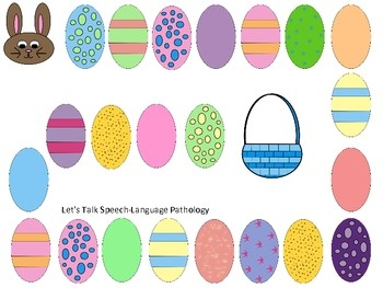 Free! Easter Games fun....gameboard and easter egg matching reinforcers for any skill