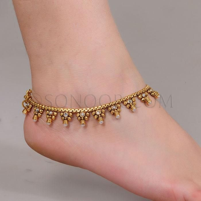 Indian Wedding Anklets Payal 6 payal designs 1