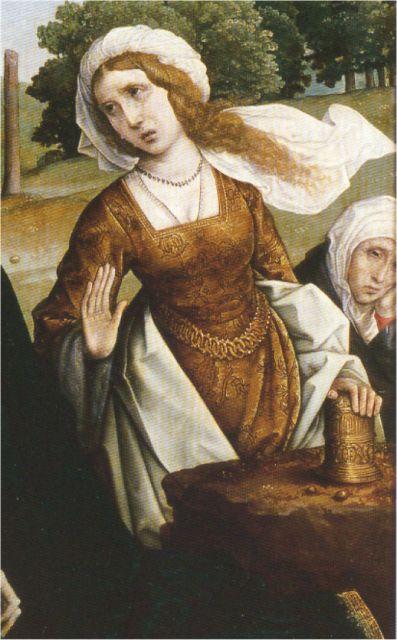 1509. La Piedad, Juan de Flandes, colección particular (detalle)