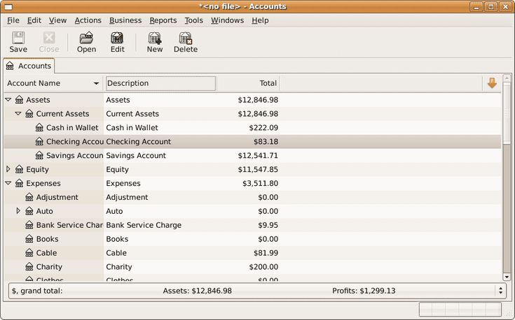 Free Personal Finance and Accounting Software from GnuCash