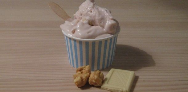 Hvid chokolade/peanutbutter cookie dough is
