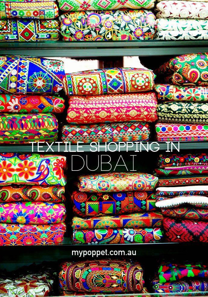 Textile Shopping in Dubai - My Poppet Living