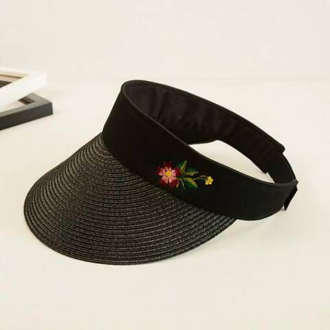 23 best outdoor sun visor hat for women images on pinterest flower embroidered straw visor hat for sun protection outdoor sun hats for women ccuart Images