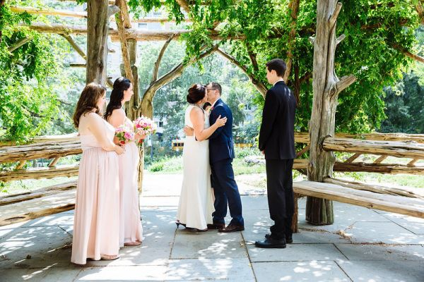 Janet and Tim's Cop Cot Wedding | Weddings in Central Park, New York