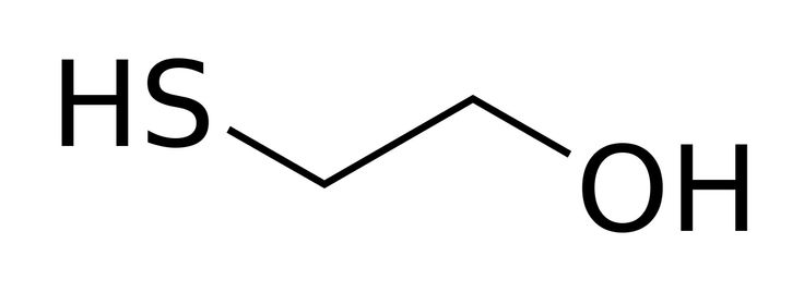 2-Mercaptoethanol (also β-mercaptoethanol, BME, 2BME, 2-ME or β-met) is the chemical compound with the formula HOCH2CH2SH. ME or βME, as it is commonly abbreviated, is used to reduce disulfide bonds and can act as a biological antioxidant by scavenging hydroxyl radicals (amongst others). It is widely used because the hydroxyl group confers solubility in water and lowers the volatility. Due to its diminished vapor pressure, its odour, while unpleasant, is less objectionable than related…