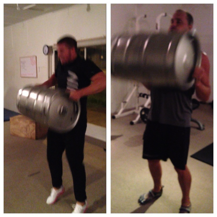 What do you do with a keg?