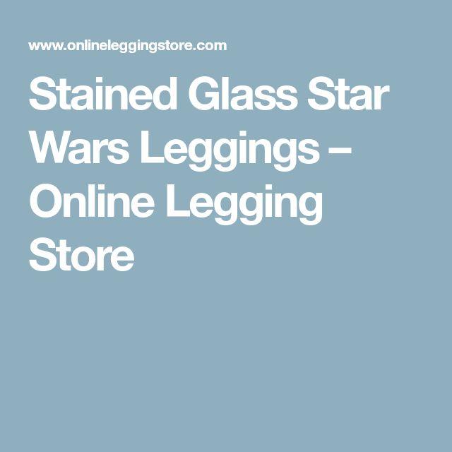 Stained Glass Star Wars Leggings – Online Legging Store