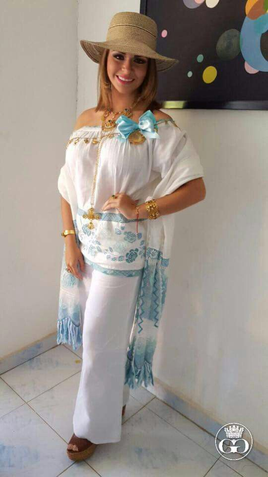 Camisola and pants combination