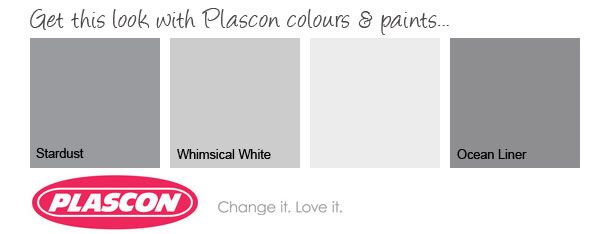 Plascon GreyonGrey color palette