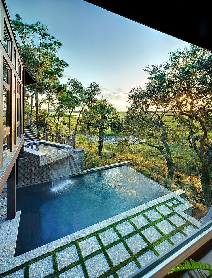 93 Best Cool Roof Pools Images On Pinterest Architecture