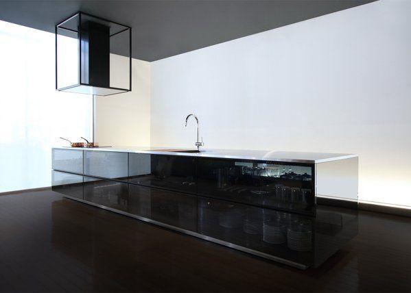 """Tokujin Yoshioka's kitchen """"shows the beauty of kitchen tools"""""""