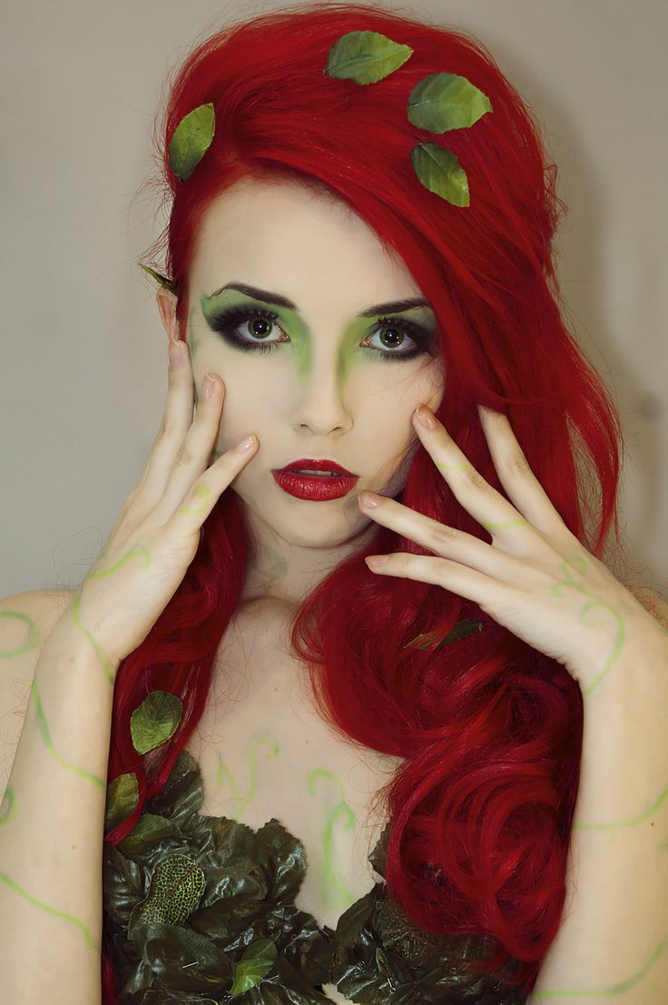 Poison Ivy by Helen-Stifler #Makeup #Cosplay