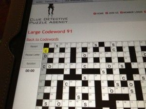 Crossword Puzzles In Reverse, Equals Codewords