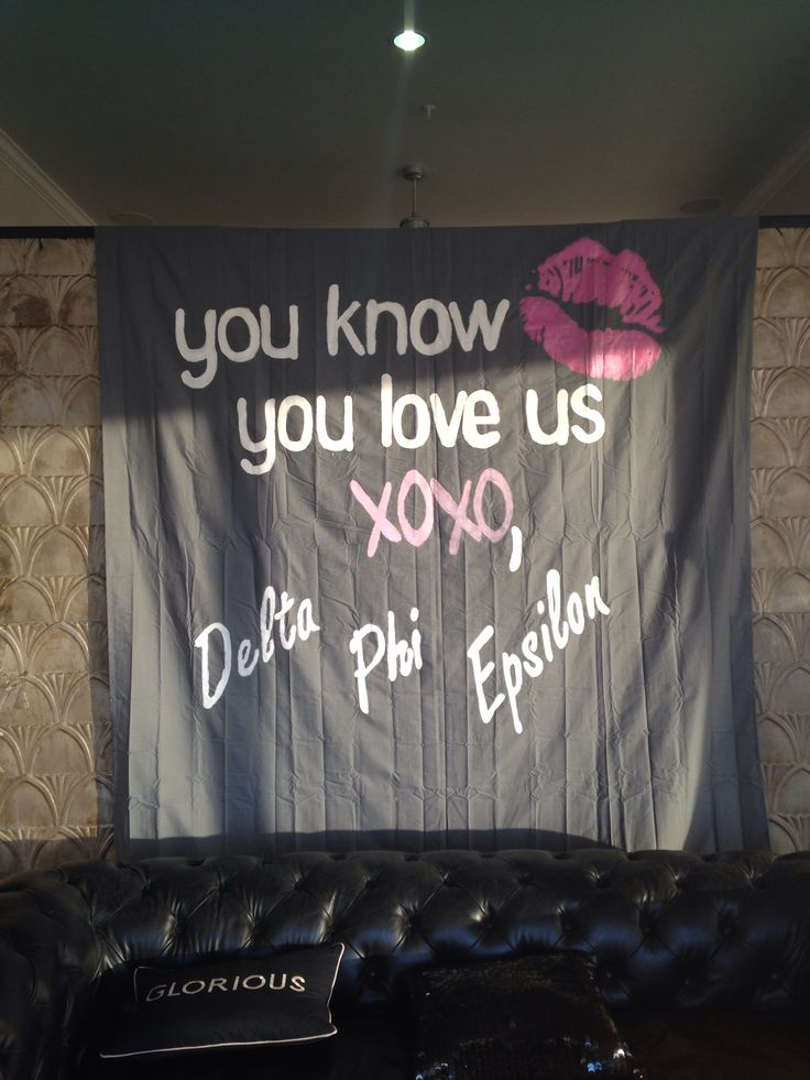 DPhiE bid day theme; gossip girl