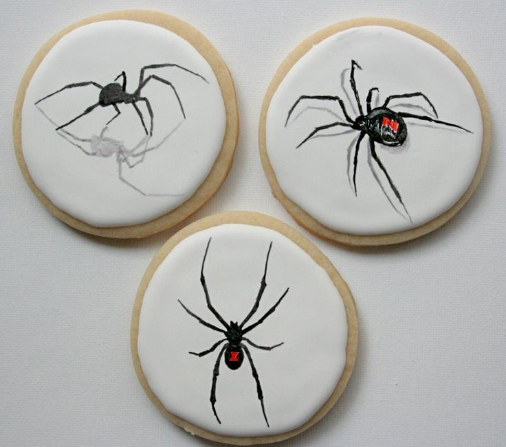 Arty McGoo Spider Cookies-I'm pretty sure I'm not gonna eat these-