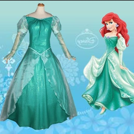 the little mermaid ariel princess dress cosplay adult ariel mermaid costume women mermaid princess ariel dress cosplay