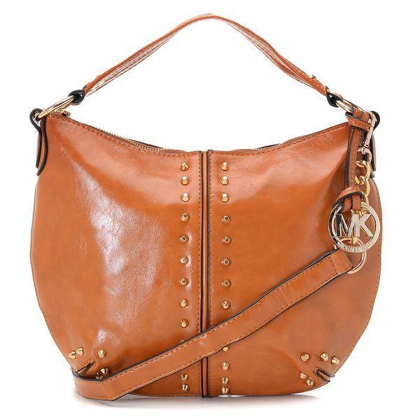 MICHAEL Michael Kors Uptown Astor Large Shoulder Bag Luggage Lea