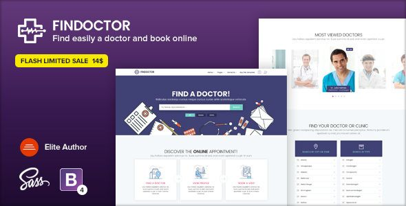 Findoctor Doctors Directory And Book Online Template
