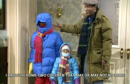 THE COSBY SHOW: Cracks me up. ~ seriously miss this show!  My children have never watched an episode.  :-(