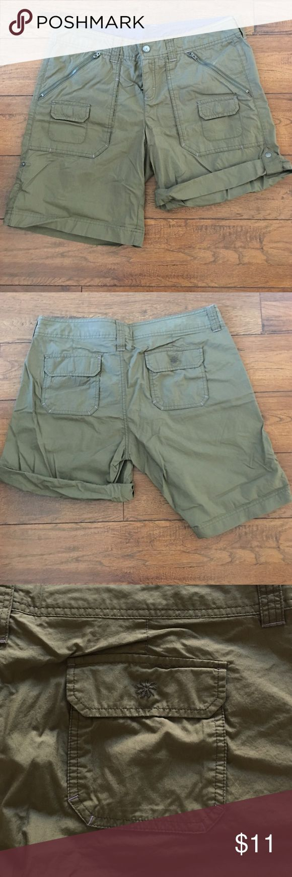 Athleta hiking shorts - NWOT Roll up shorts with plenty of pockets. Light weight and quick drying. Athleta Shorts