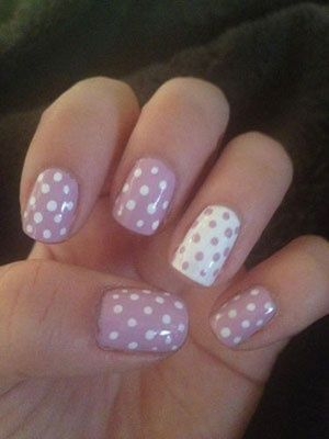 Polka dots, Love stuff like this if only I knew how to do it