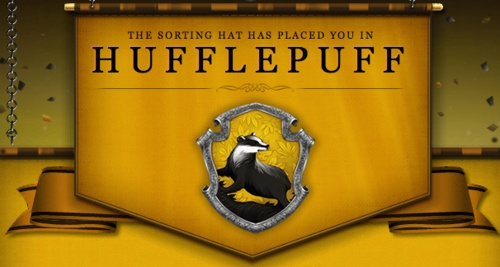 Ohhh, this. This is what's going on my foot. Hufflepuff for life. <3
