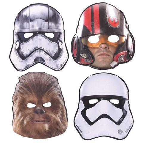 Star Wars 7 Paper Masks