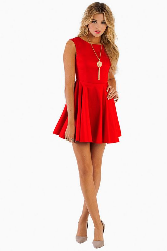 Celia Skater Dress ~ TOBI