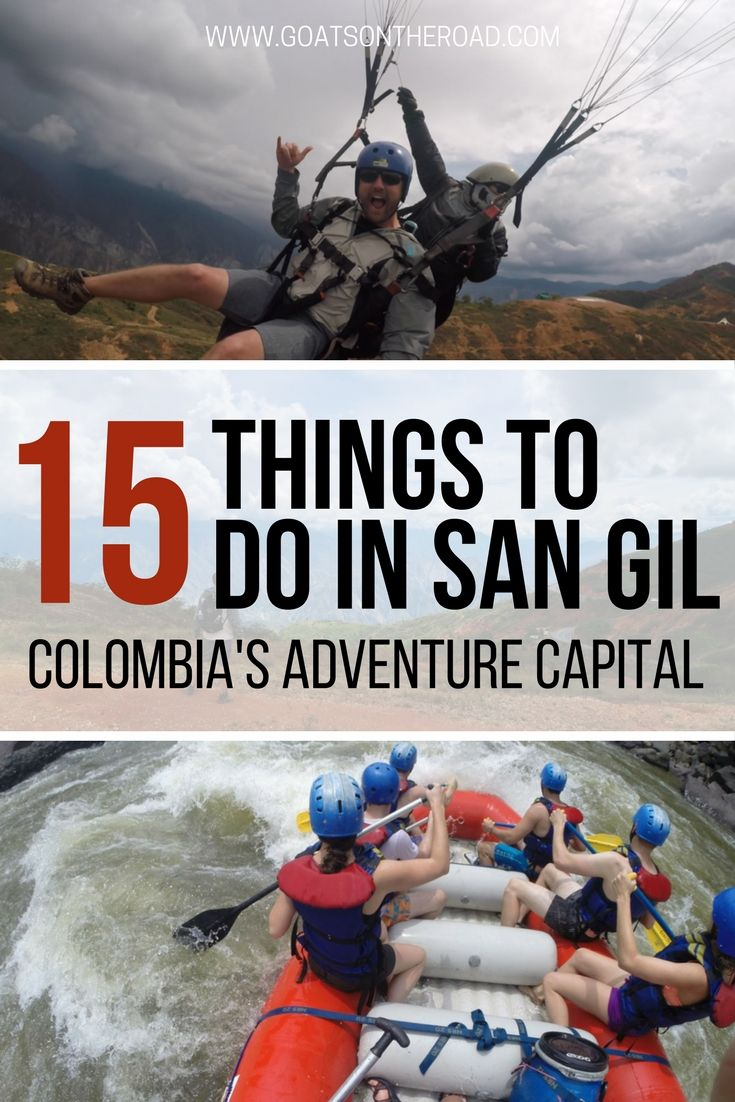 15 Things To Do in San Gil - Colombia's Adventure Capital  San Gil | Colombia Travel | Things to do in San Gil | Adventure Capital San Gil | South America Travel | Cerro De La Cruz | Camino Real | Visit Barichara | Pozo Azul | Pescaderito Area | Chicamocha Canyon | Kayaking in San Gil | Paragliding in San Gil | Curtiti | Rio Suares | Rio Fonce | Canyoning in San Gil | Caving in San Gil