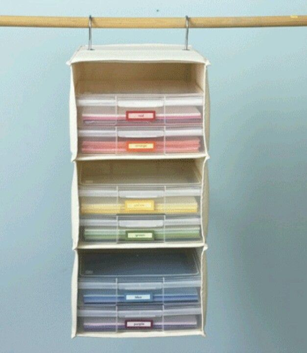 Storage idea for paper.                             Gloucestershire Resource Centre http://www.grcltd.org/scrapstore/