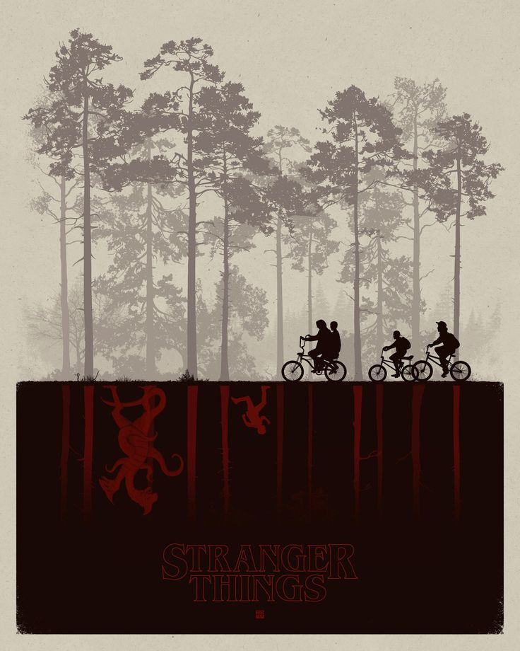 Stranger Things Poster - Created by Matt Ferguson