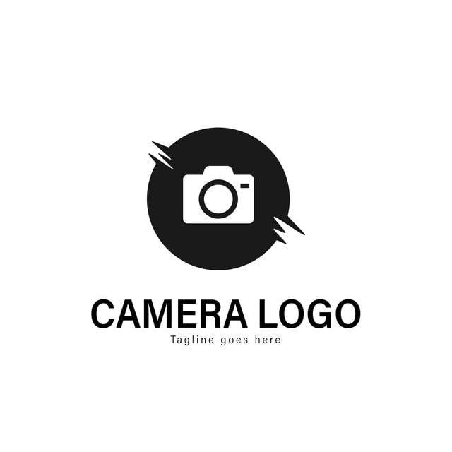 Camera Logo Template Design Camera Logo With Modern Frame Camera Logo Photography Templates Design Template Design