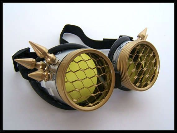 These Steampunk Goggles are Unique and Handmade #steampunk #victorian trendhunter.com