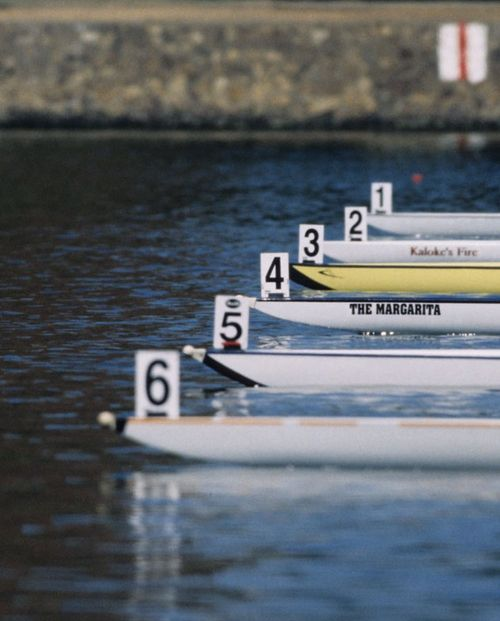 rowing - something I've always wanted to try.