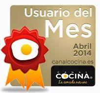 Elegida Usuario del mes de Canal Cocina ¿Quieres leer la entrevista?