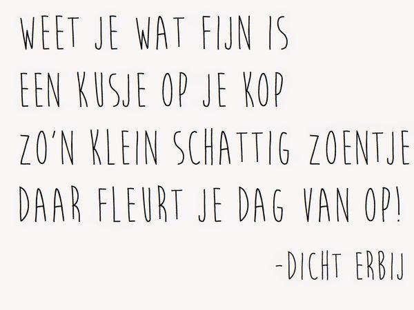 #kusje #kus #zoen #spreuk #citaat #nederlands #teksten #spreuken #citaten #grappig #lief