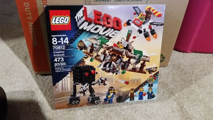 NEW LEGO Creative Ambush 70812 Set The Lego Movie BRAND NEW, UNOPENED, FREE S&H #Lego
