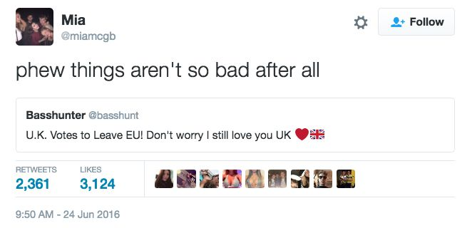 16 Of The Best Scottish Twitter Reactions To The Brexit Clusterfuck