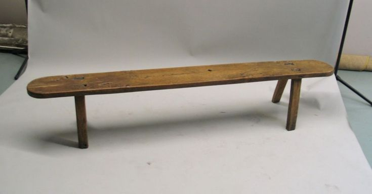 French Modern Craftsman Bench | From a unique collection of antique and modern benches at https://www.1stdibs.com/furniture/seating/benches/