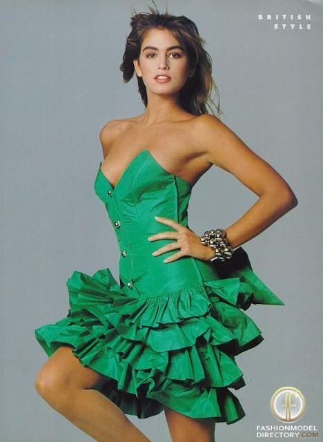 cindy crawford 1988 | Cindy Crawford : que sont elles devenues | men fashion trend