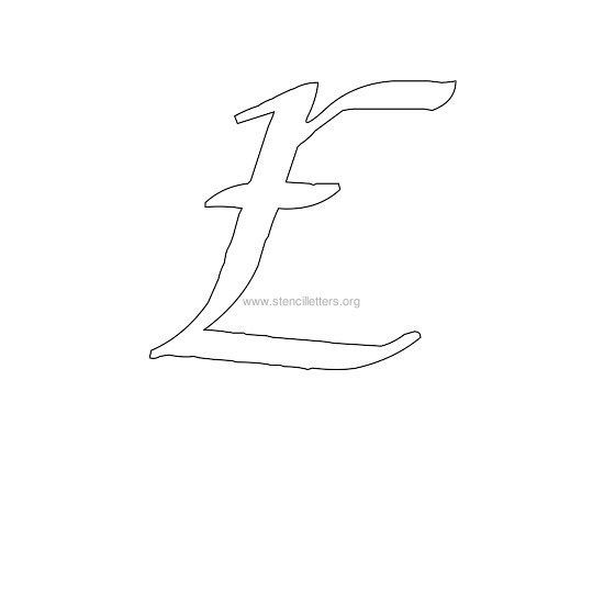 17 best images about letter templates on pinterest Calligraphy stencil set