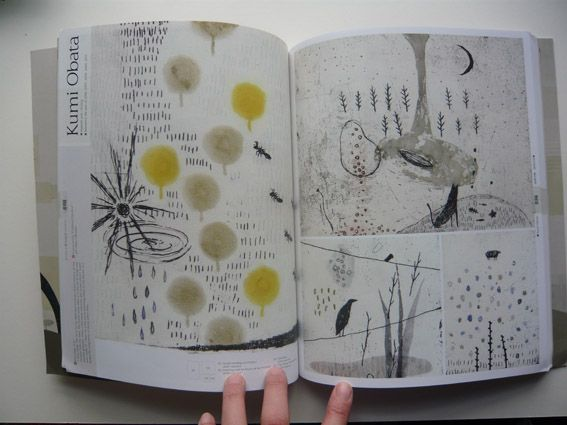 the power of a visual diary Etchings by Kumi Obata