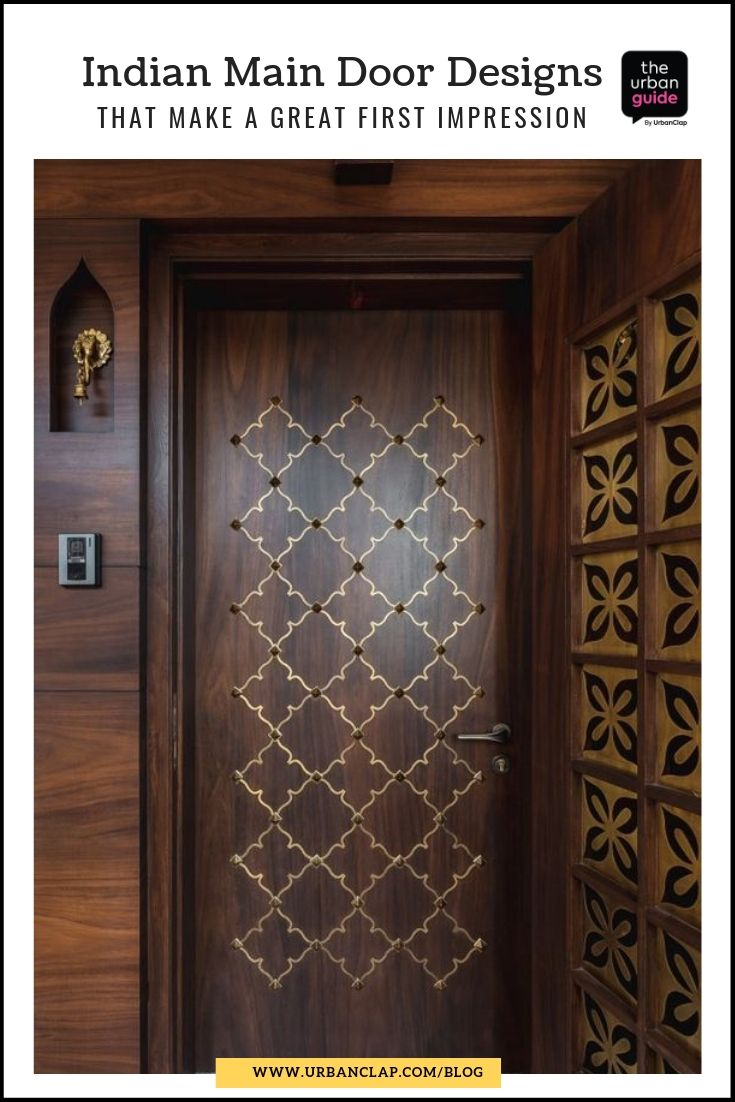 15 indian main door designs that make a great first